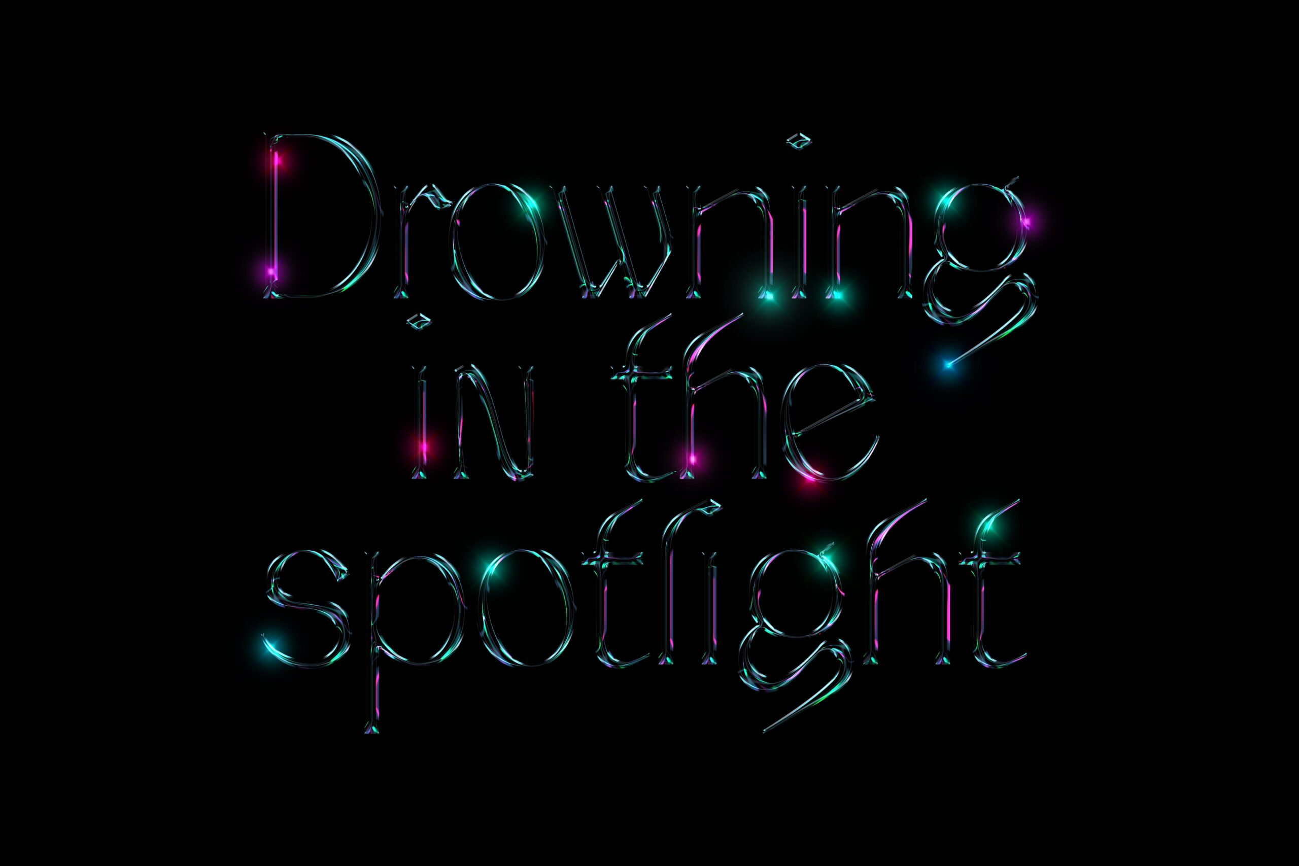 Drowning-in-the-spotlight